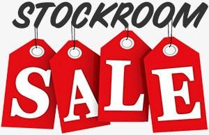 stockroom sale banner icon