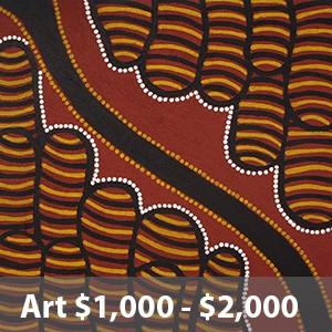 artworks $1000 - $2000