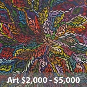 artworks $2000 - $5000