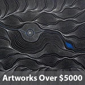 artworks over $5000