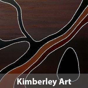 Kimberley ochre art