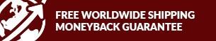 Free Worldwide Shipping Guarantee Icon