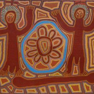 Linda Syddick / Tingari Dreaming at Lake Mackay