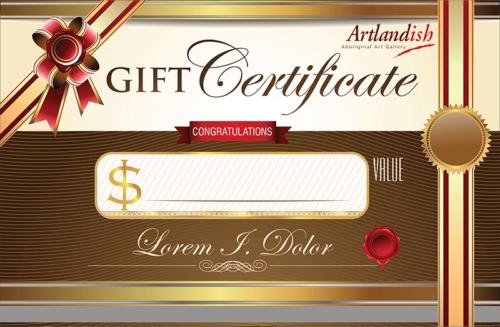 Artlandish gift certificate