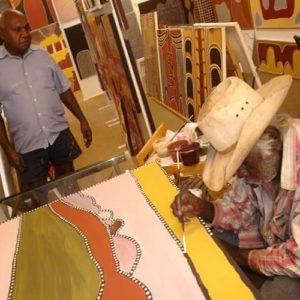 Master Ochre Artists at work