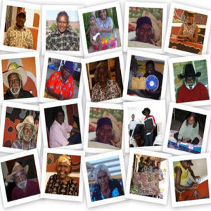 Aboriginal artists collage
