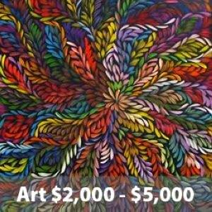 art $2000 to $5000 icon