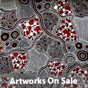 Artworks on sale icon