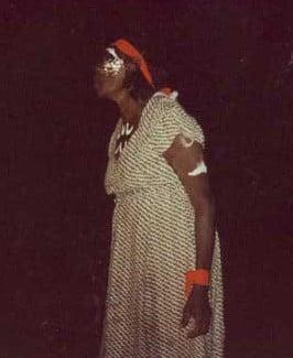 peggy patrick aboriginal ceremonial dancing