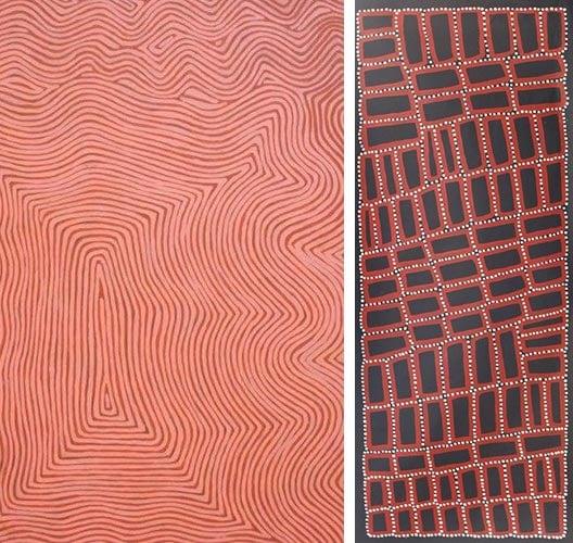 western desert aboriginal paintings