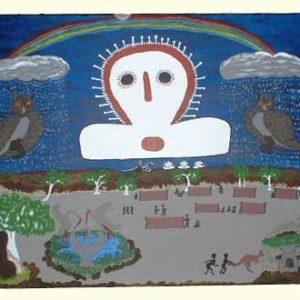 Yvonne Burdu / Wandjina Owl Dreaming