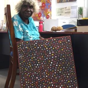 Phyllis Ningamara Aboriginal Artist