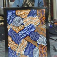 Betty Mbitjana /  Awelye Atnwengerrp (Body Paint)