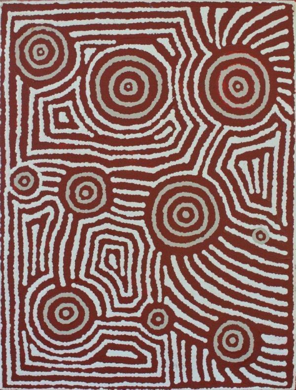 Theo Nangala Hudson / Native Seed Dreaming