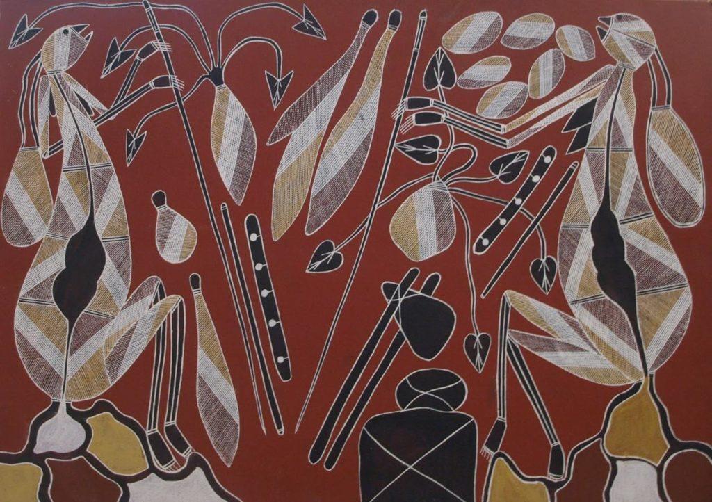 Wesley Nganjimirra / Yingana, Ancestral Being