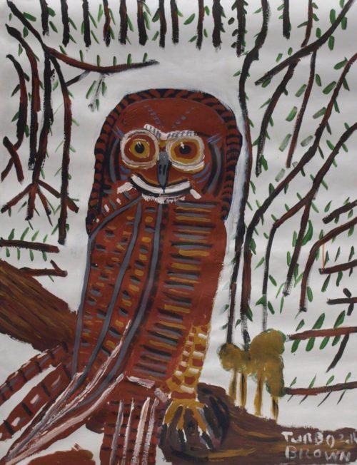 "Trevor ""Turbo"" Brown / Owl"