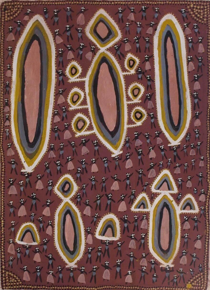 Alan Griffiths / Bali Bali Balga (9A) - Artlandish Aboriginal Art Gallery