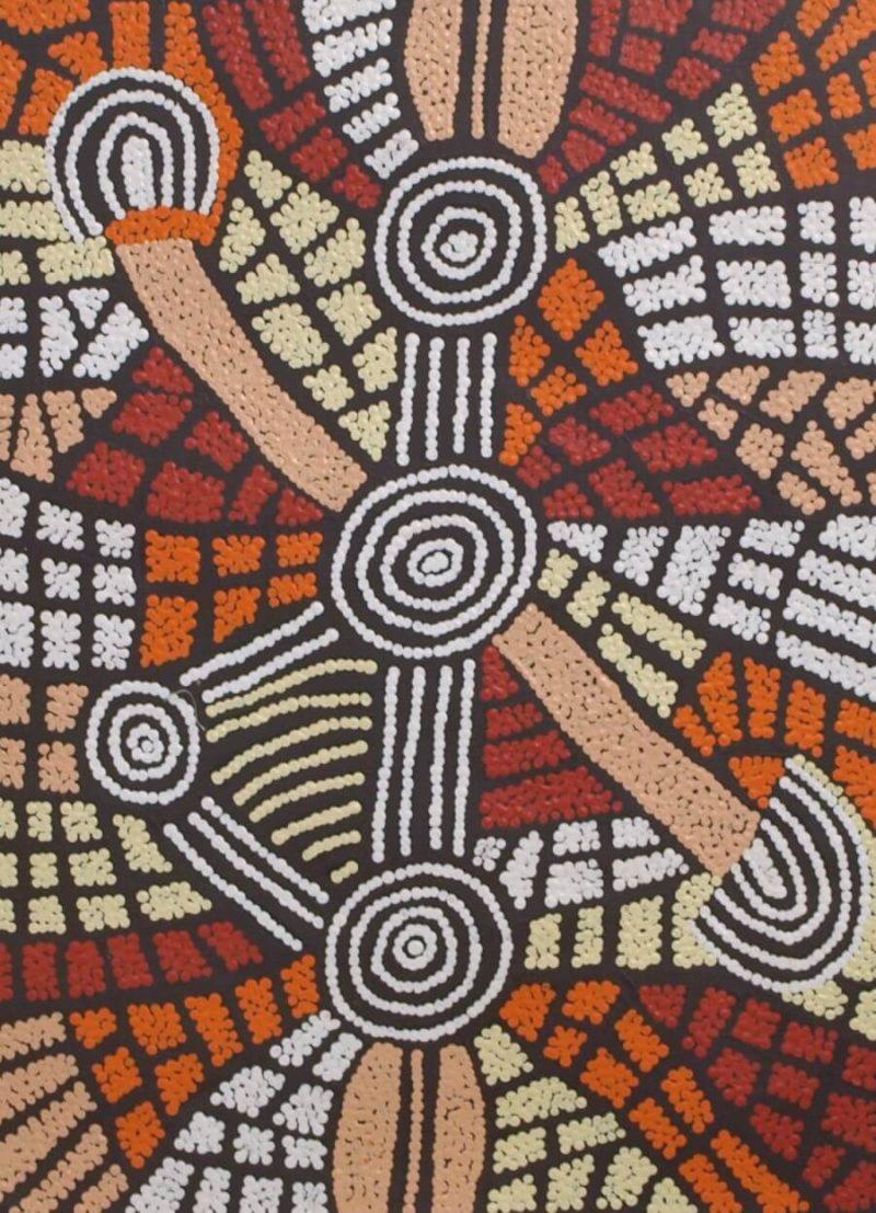 Kim Butler Napurrula Aboriginal Artist