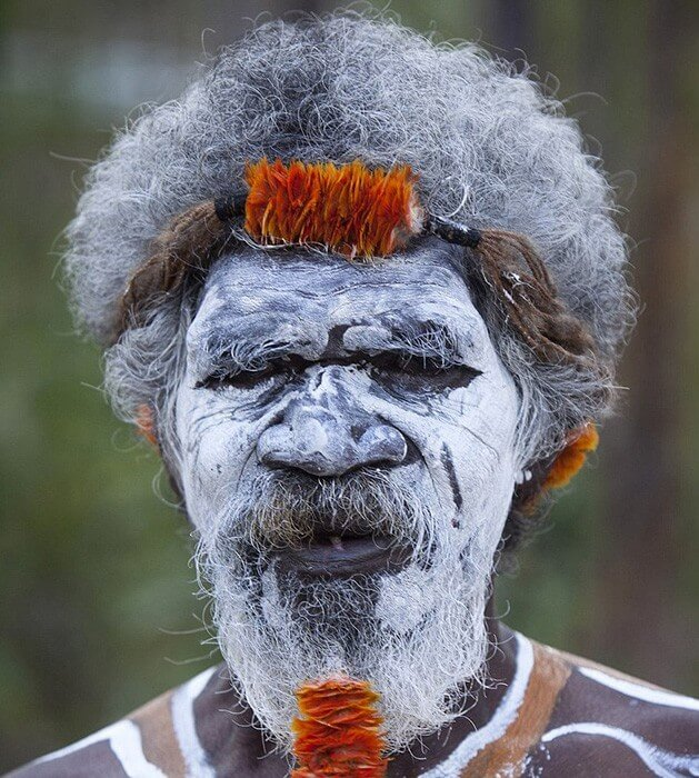 Aboriginal body painting art for Aboriginal body decoration