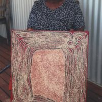 Tjawina Porter Nampitjinpa Aboriginal Art