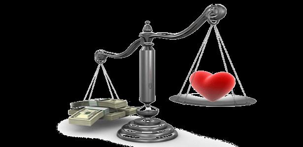 money love scales