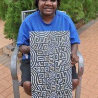 Maisie Nungurrayi Ward Aboriginal Art
