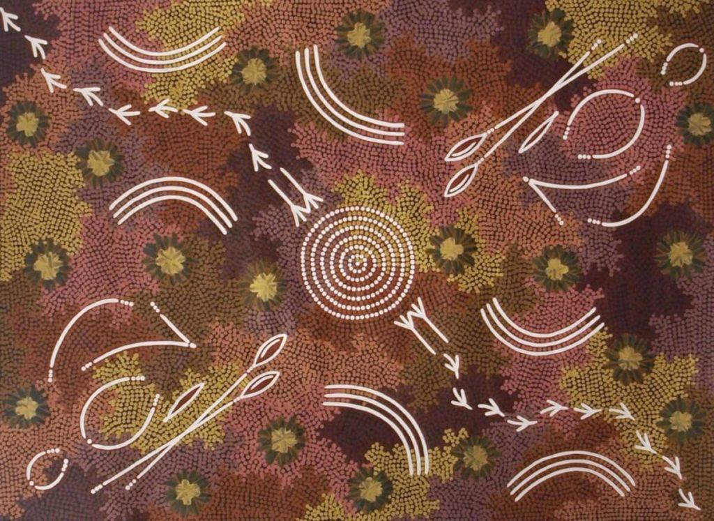 Bevan Tjampitjinpa Aboriginal Art
