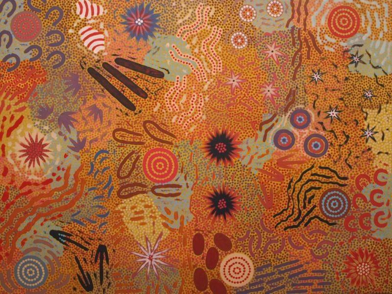 Michelle Possum Nungurrayi Aboriginal Artist