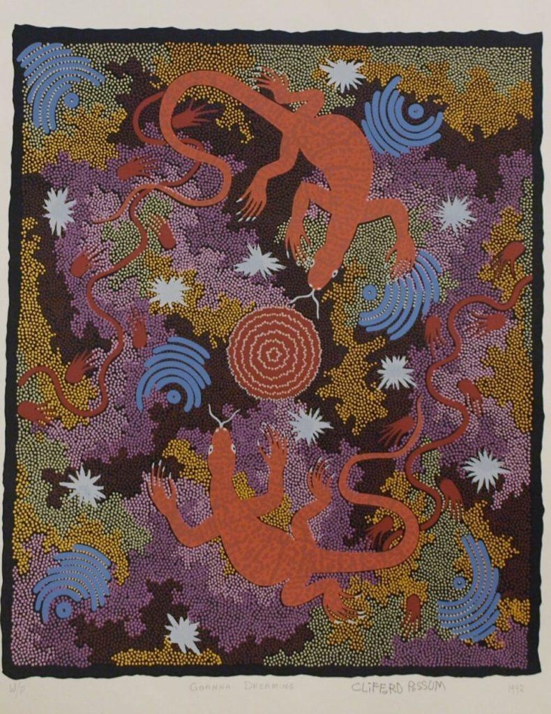 Clifford Possum Tjapaltjarri Aboriginal Art