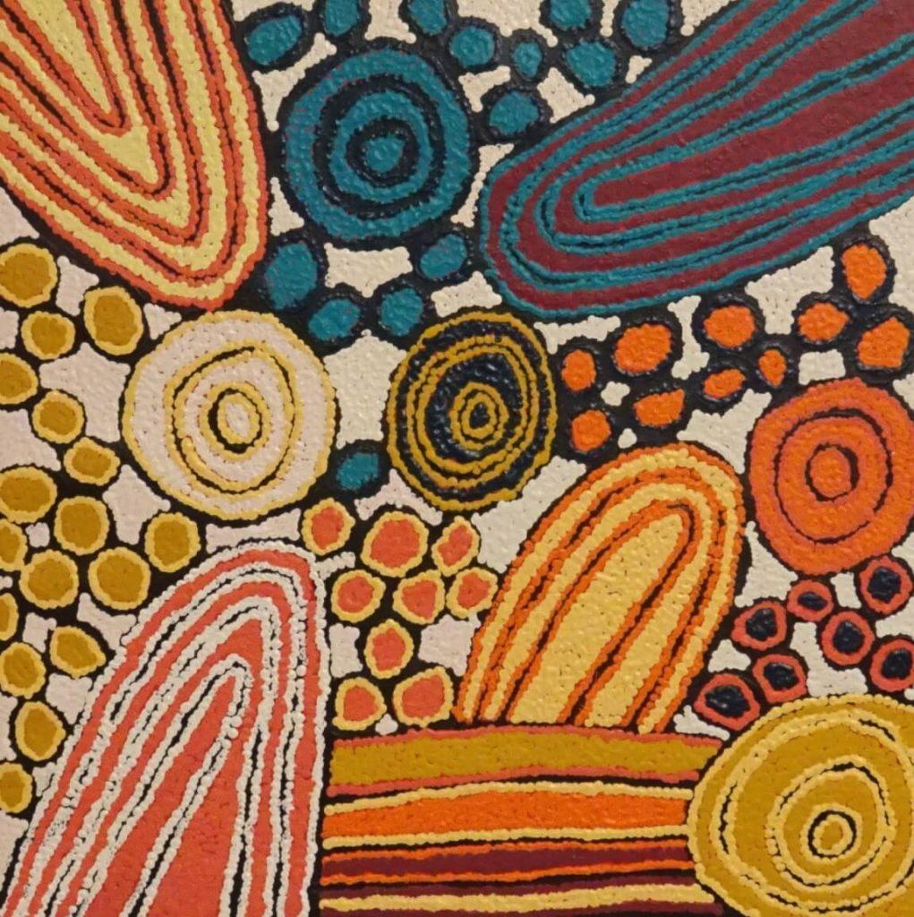 Katherine Marshall Nakamarra Aboriginal Art