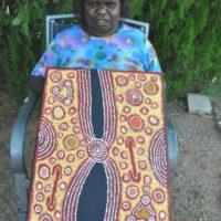 Susan Gibson Napaltjarri Aboriginal Art