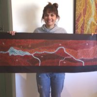 Arkeria Rose Armstrong Aboriginal Art