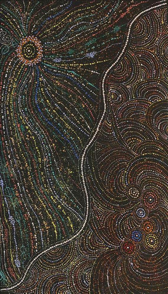 Wendy Nungarrayi Brown Aboriginal Art