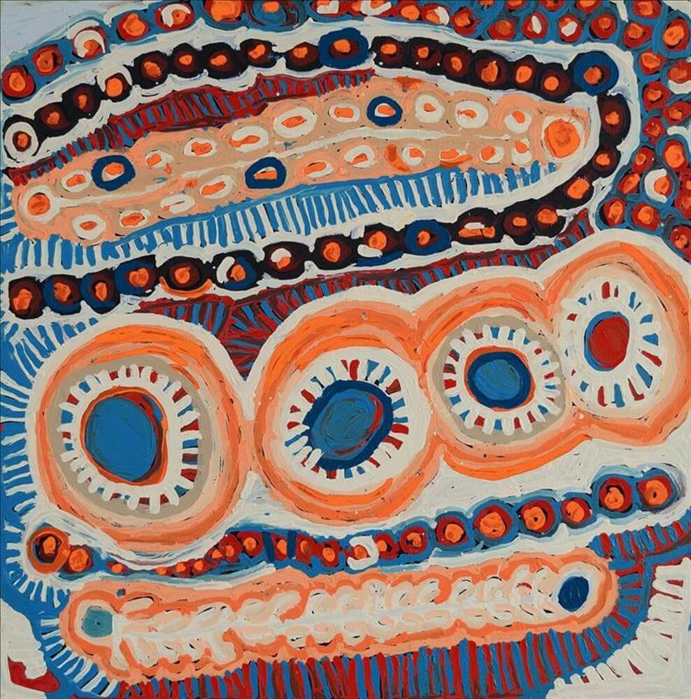 Murdie Nampijinpa Morris Aboriginal Art