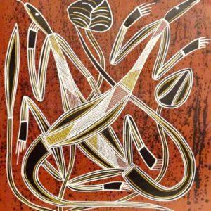 Gary Djorlom Aboriginal Art