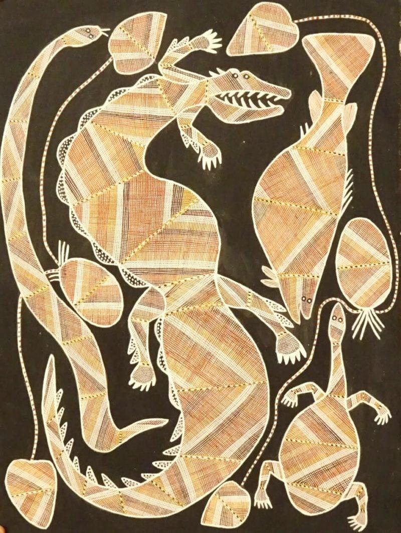 Ivan Namirikki Aboriginal Art