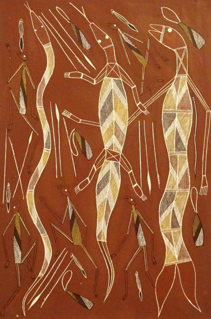 Warrick Kelly Yipawanga Aboriginal Art