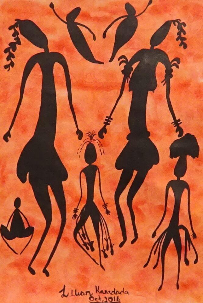 Lillian Karadada Aboriginal Art