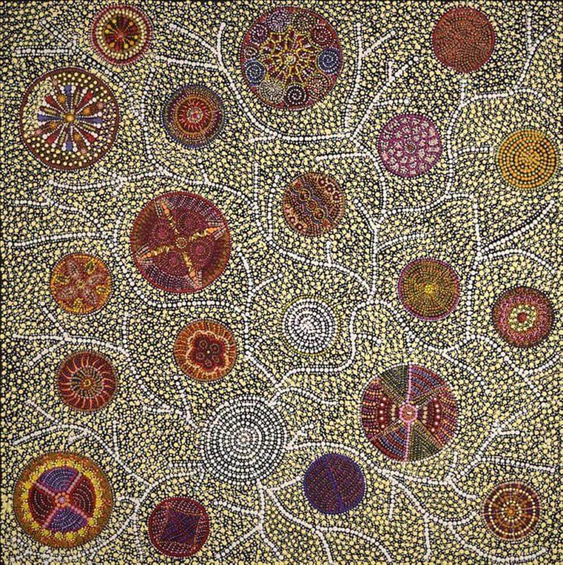 Julie Napurrurla Gordon Aboriginal Art