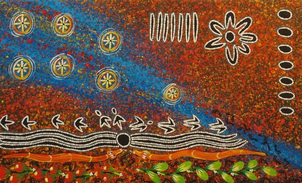 Reggie Sultan Aboriginal Artist