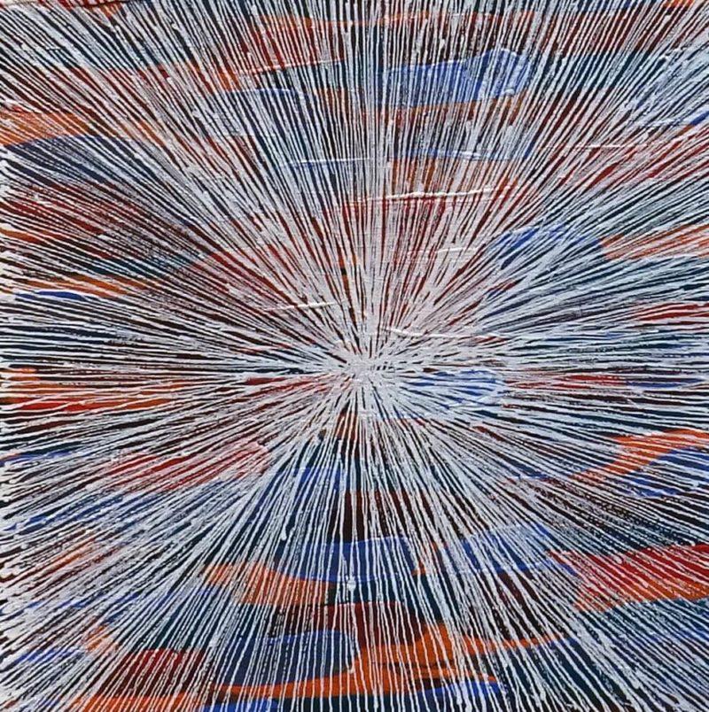Lucky Morton Kngwarryeye Aboriginal Art