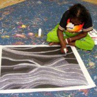 Elsie Granites Napanangka Aboriginal Art