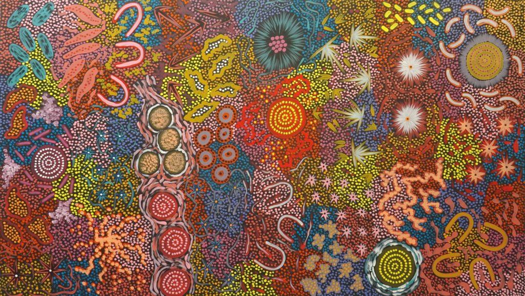 Aziza Possum Aboriginal Art