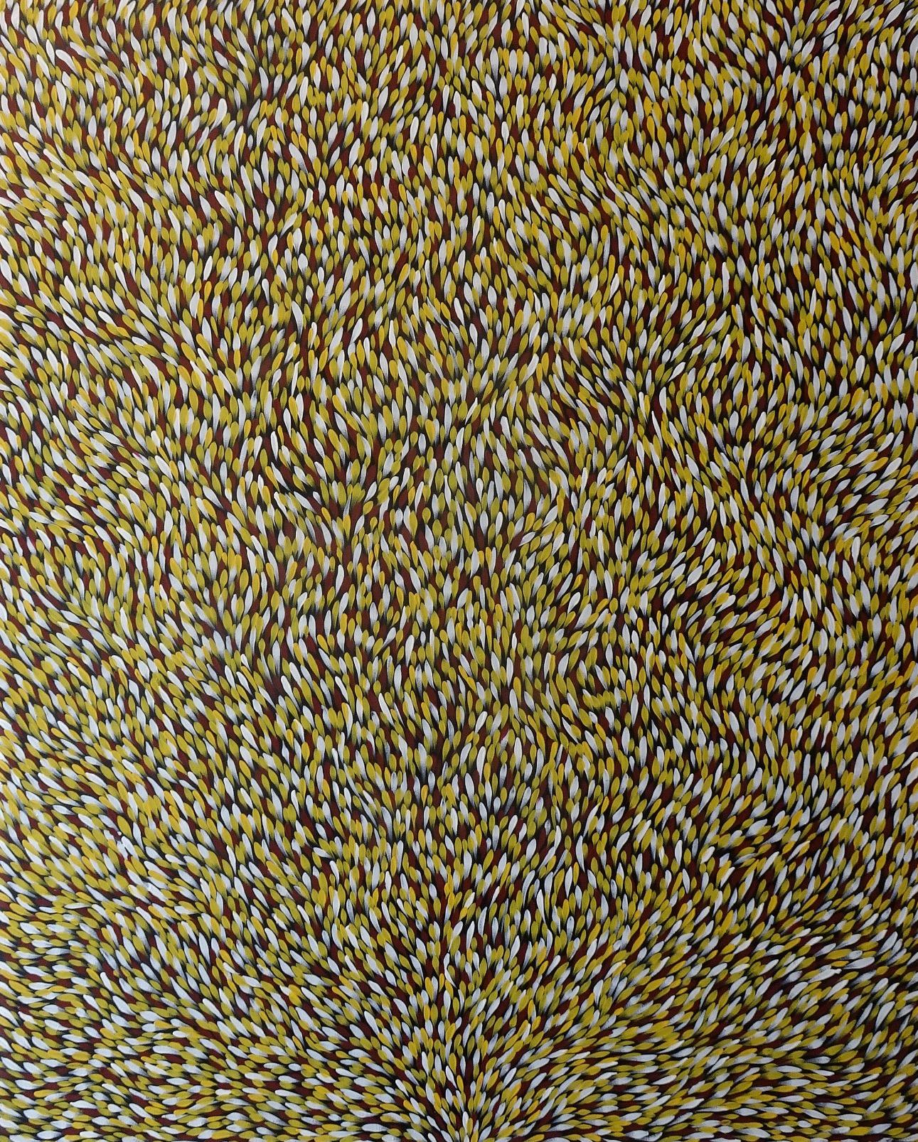 Gloria Petyarre Medicine Leaves 7c Artlandish Aboriginal Art
