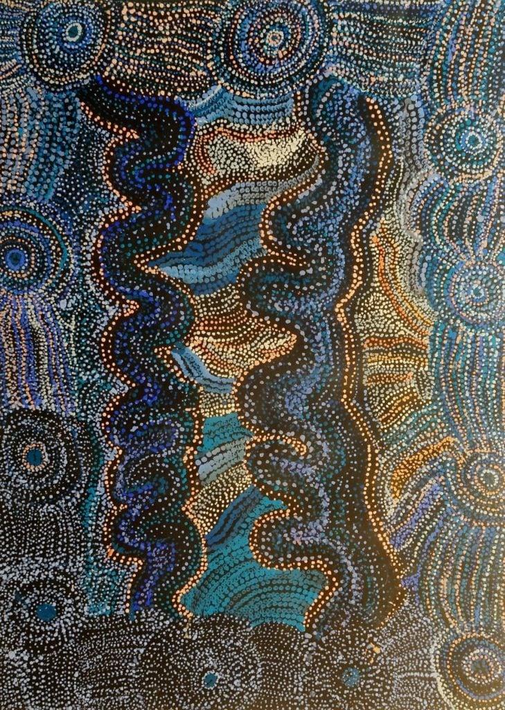 Tjampawa Stevens Aboriginal Art