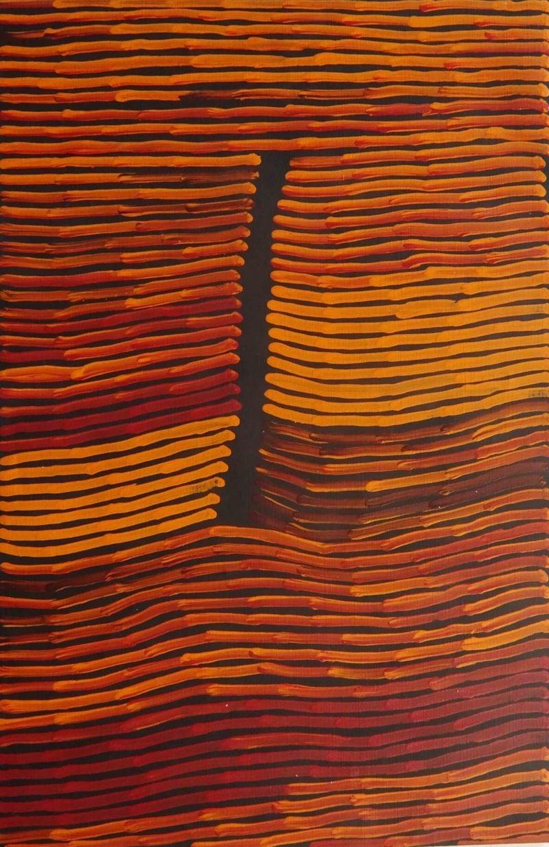 Ronnie Tjampitjinpa Aboriginal Art