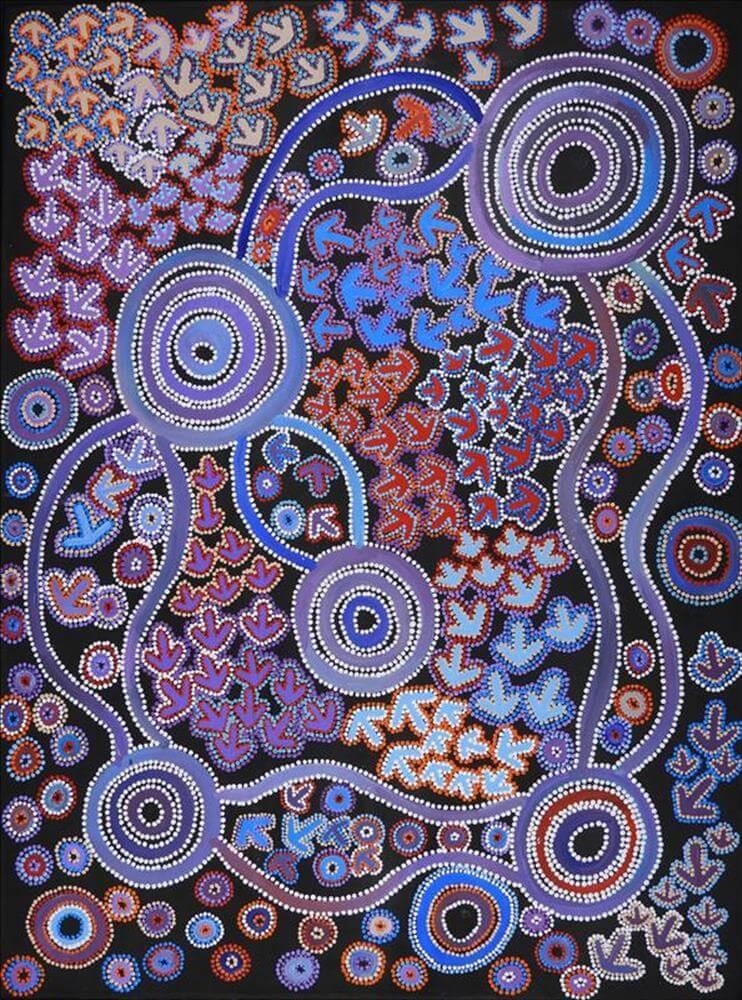 Lee Nangala Gallagher Aboriginal Art