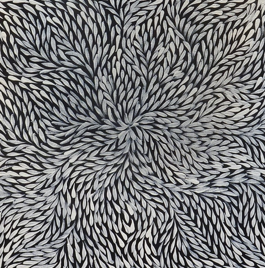 Rosemary petyarre bush leaves 12b artlandish aboriginal art gallery