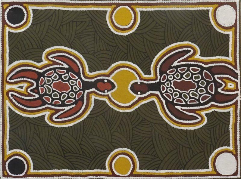 Ju Ju Wilson Aboriginal Artwork
