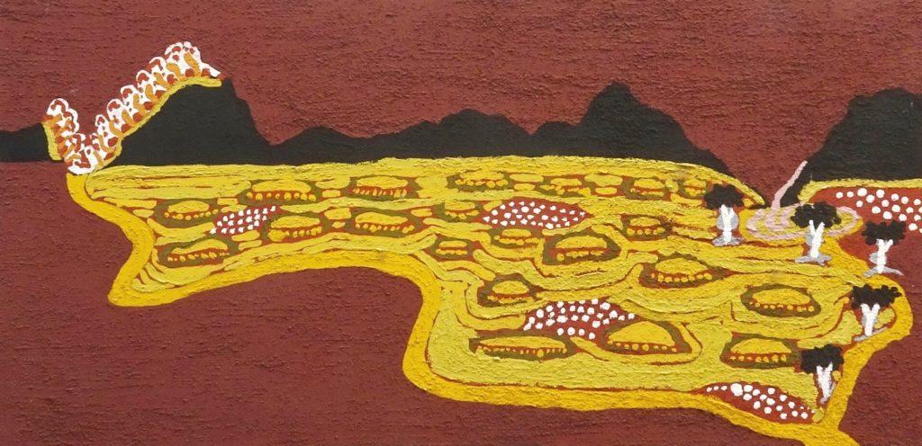 Peter Brandy Aboriginal Art